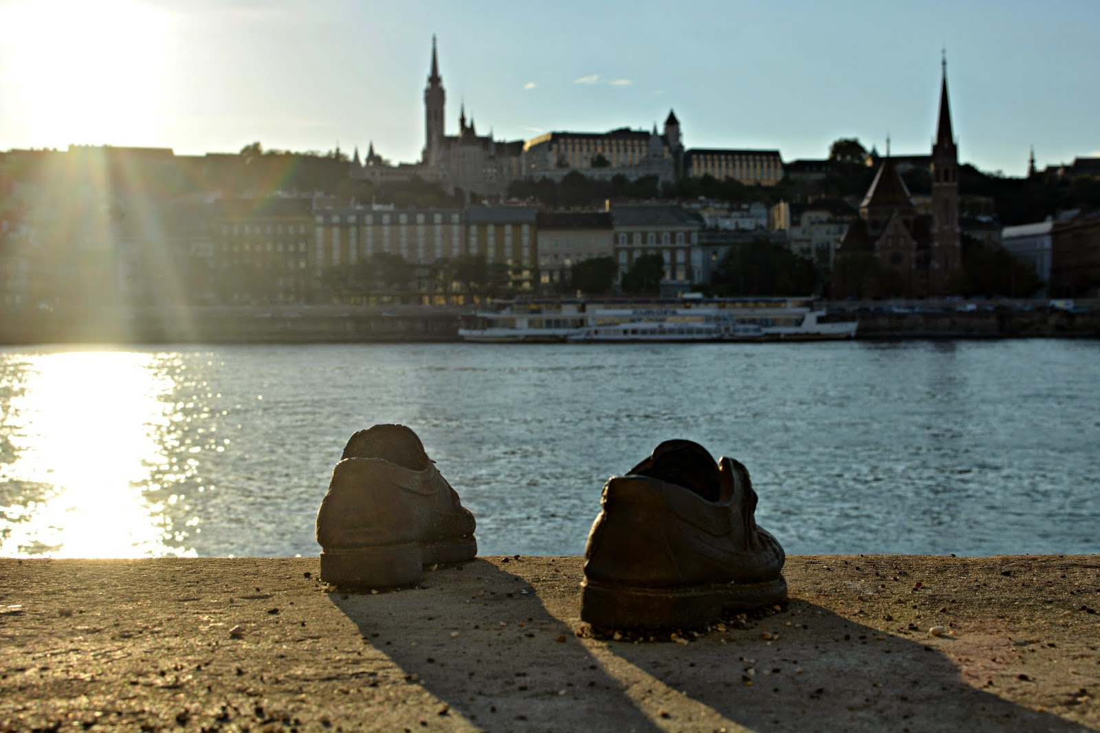 Jewish shoes memorial Budapest