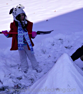 Joy Focused Learning: weekly wrap up: snow fun
