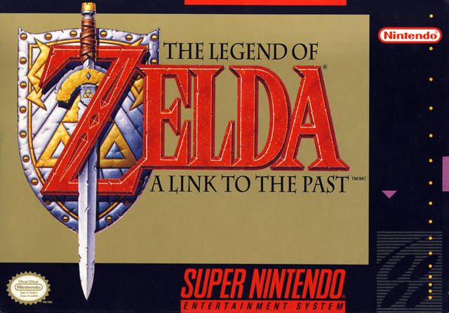 Legend of Zelda A link to the past SNES