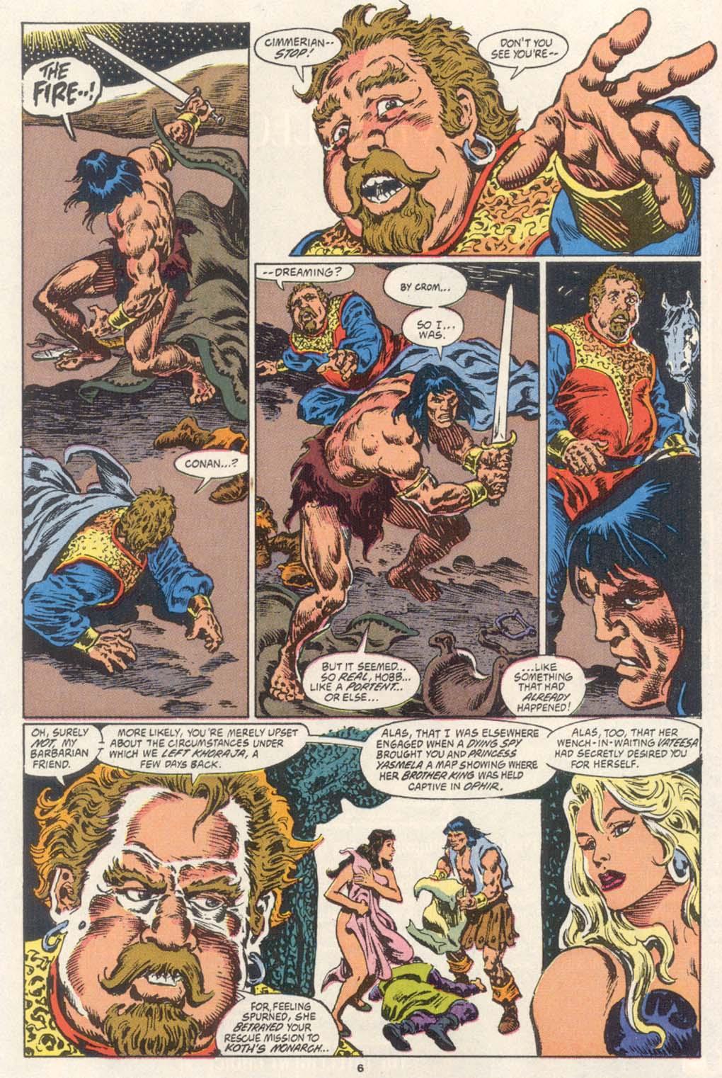 Conan the Barbarian (1970) Issue #252 #264 - English 6