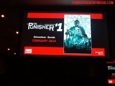 New York Comic Con 2014 Punisher #1 Announcement