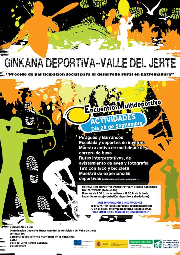 1º Encuentro Multiportivo en el Valle del Jerte