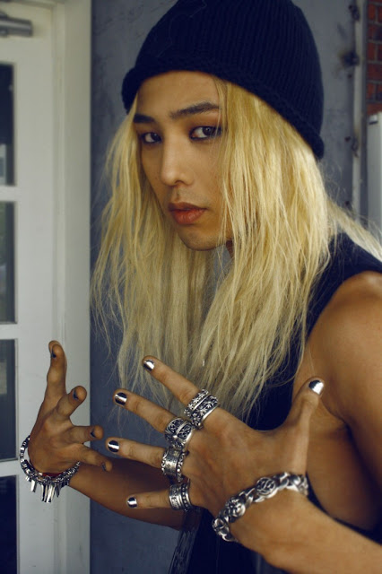 G-Dragon for Dazed and Confused magazine 2011