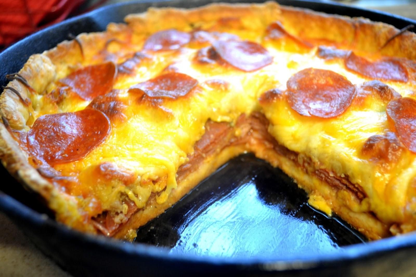 Tip garden skillet meal pizza pie