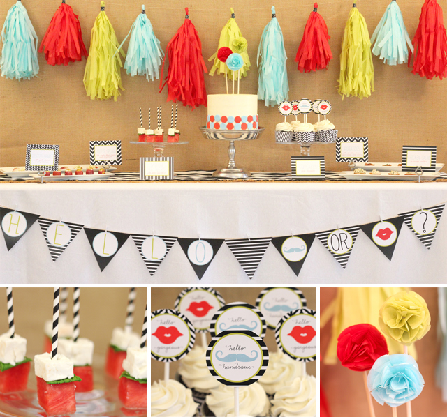 Le Partie Sugar gender reveal party