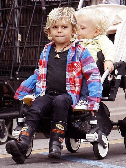 Kid Boots Harley Davidson1