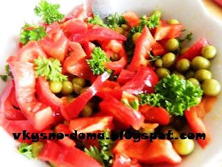 Лёгкий диетический салат