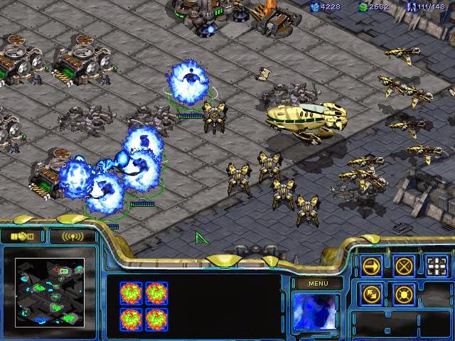 Starcraft 1 PC Games Screenshots