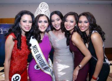 Gambar - MISS MALAYSIA UNIVERSE 2012 Kimberly Legget