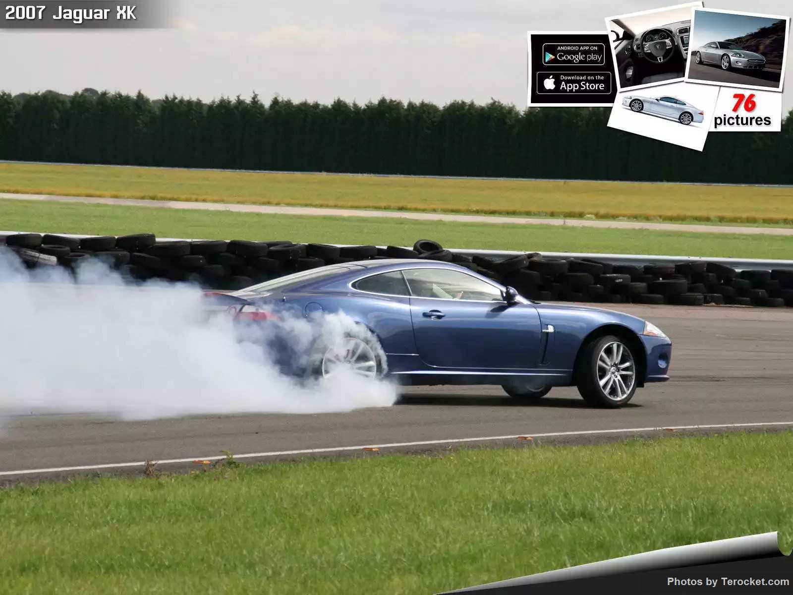Hình ảnh xe ô tô Jaguar XK 2007 & nội ngoại thất
