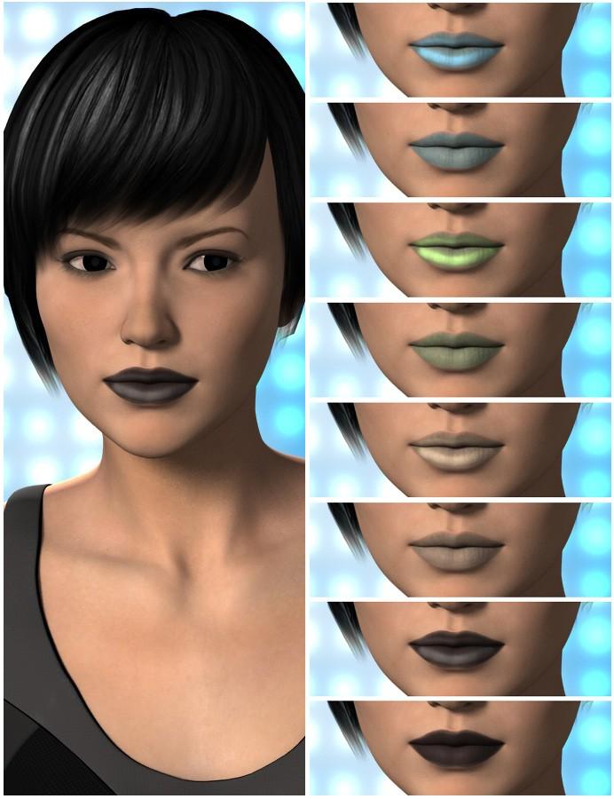 Victoria 6 Skin Tones