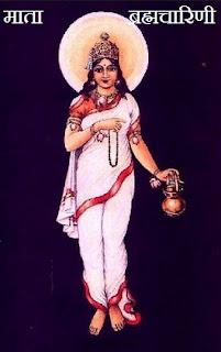 ब्रह्मचारिणी देवी | Maa Brahmacharini Pooja in Hindi , द्वितीय  नवरात्र , Navratri Dwitiya