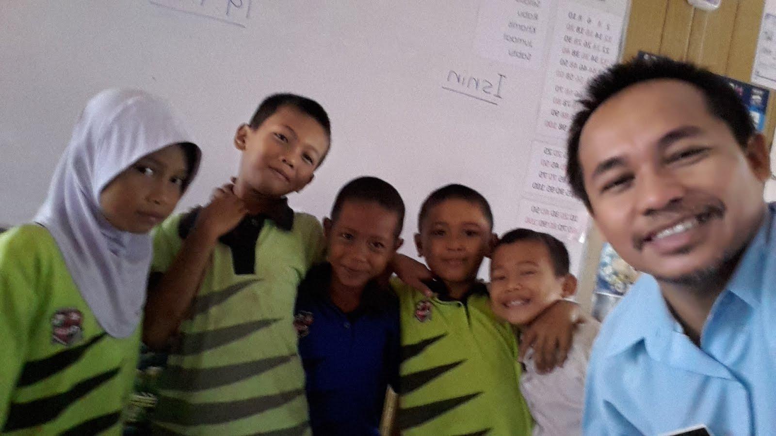 Bersama murid 2015