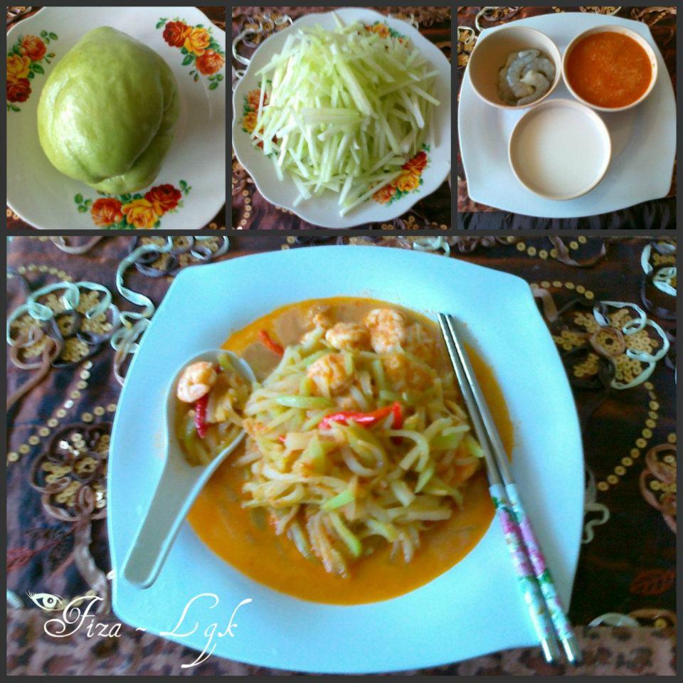 TUMIS LABU SIAM BERSANTAN | Fiza's Cooking
