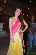kajal agarwal photos in half saree-thumbnail-6