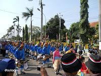 Pawai Hari Jadi Kabupaten Tegal Ke-411