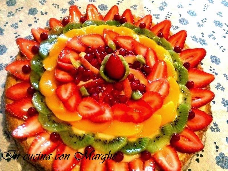 Crostata alla frutta di stagione