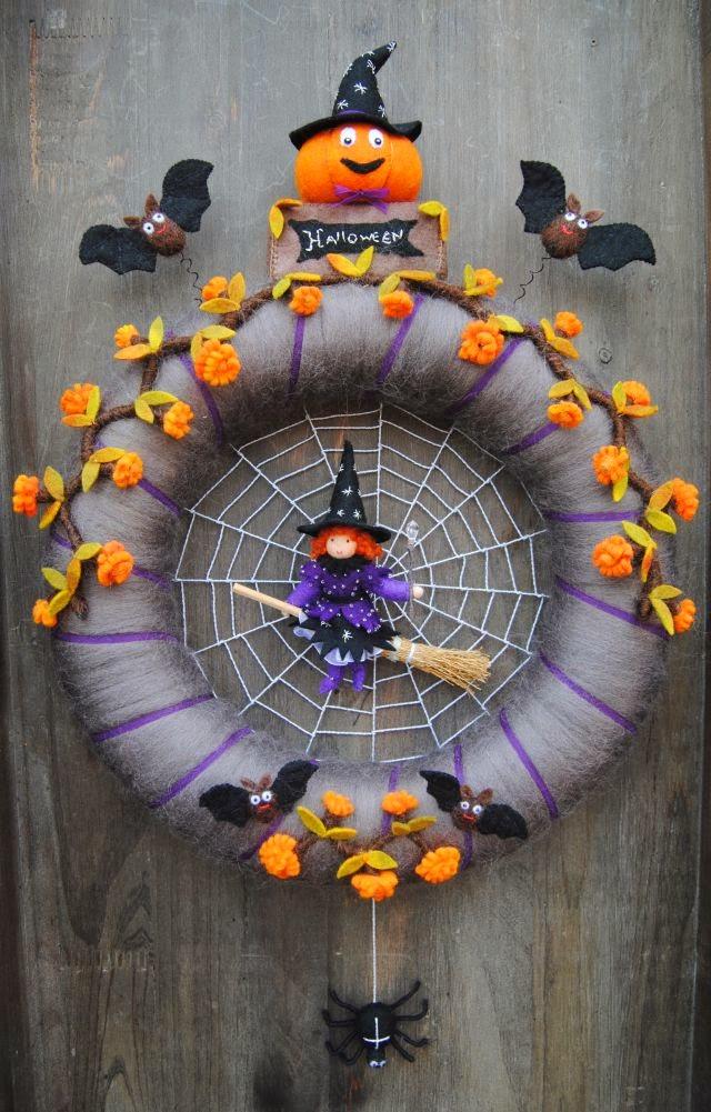 Halloween krans