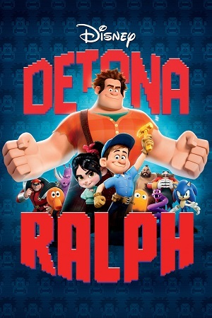 Detona Ralph BluRay Filmes Torrent Download capa