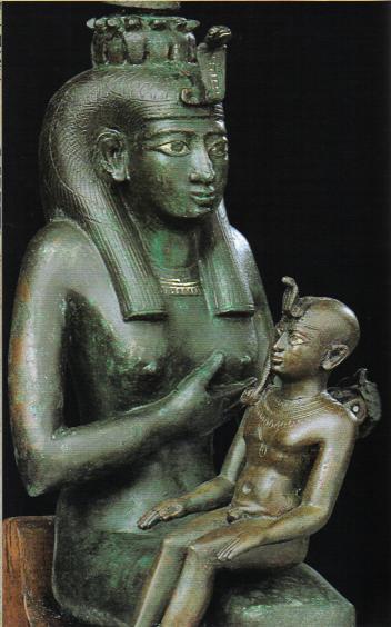 Symbolik im Allgemeinen und im weiteren Sinne Virgen+negra+isis