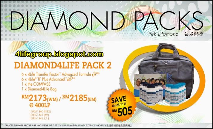 foto Diamond 4Life Pack 2 4Life Malaysia