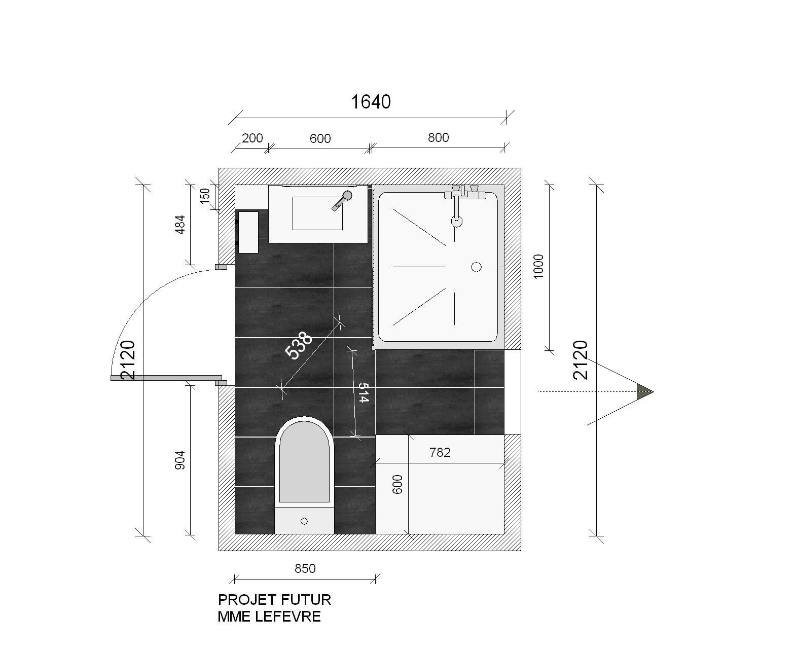 bain douche younes. Black Bedroom Furniture Sets. Home Design Ideas