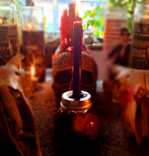 hechizos de amor con velas rosas