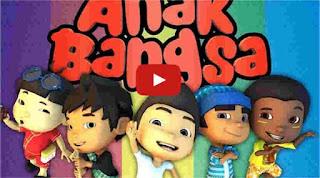 film kartun Anak Indonesia Keris sakti