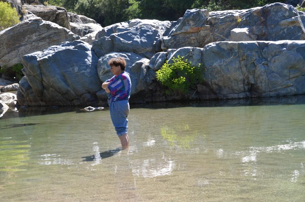 Mendocino Chronicles Yuba River Swimming Hole