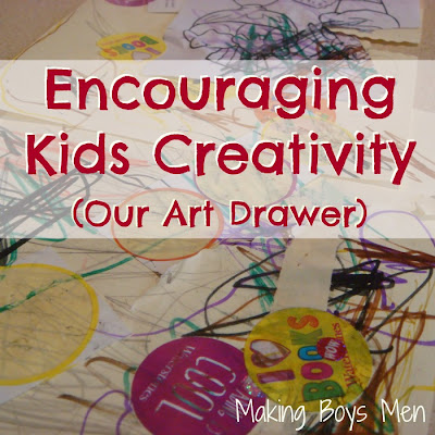 Encouraging kids creativity