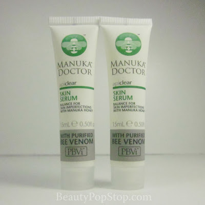 manuka doctor apiclear skin serum review bee venom royal jelly natural skin care