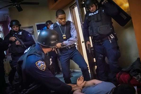 Detective Marcus Bell in Elementary Season 3 Episode 8 End of Watch