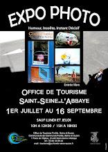 NOTRE EXPO PHOTO VOUS ATTEND À L'OFFICE DE TOURISME DE SAINT-SEINE L'ABBAYE JUSQ'AU 16 SEPTEMBRE