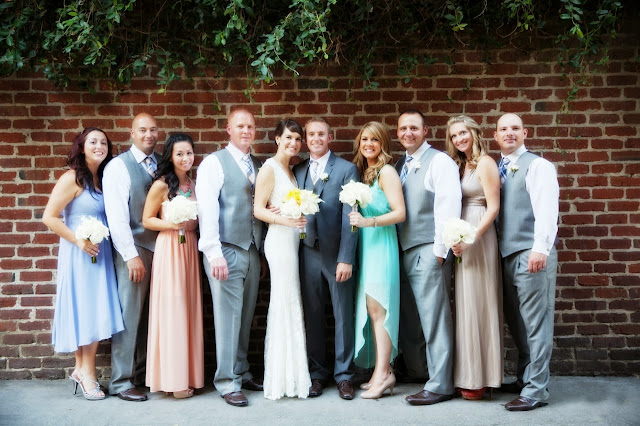 Northern California Bridal party
