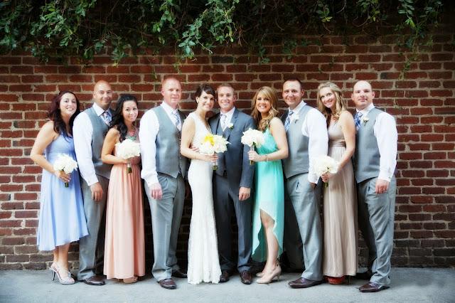 Northern California Bridal party