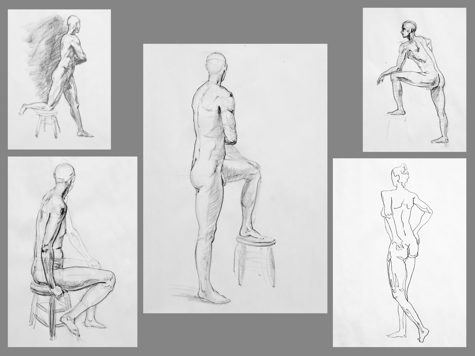 How to draw naked people photo 8