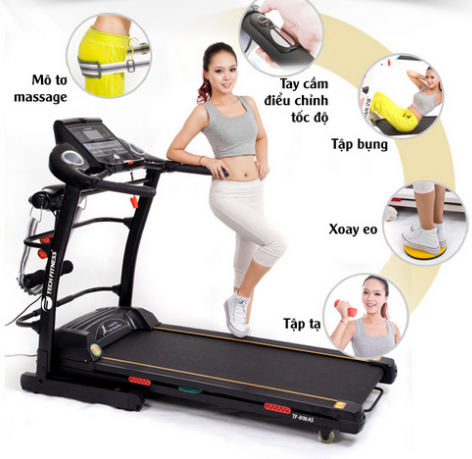 máy chạy bộ bài tập thể dục giảm cân