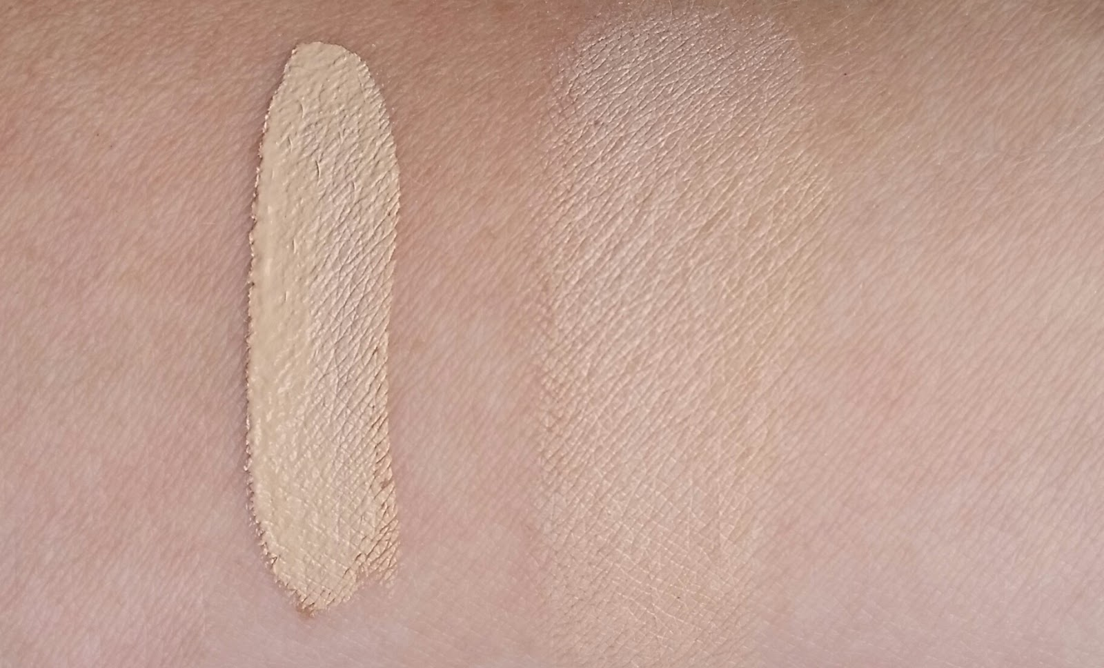 Maybelline SuperStay Better Skin Concealer swatches