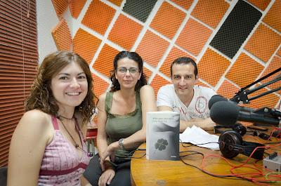 Anantes y Susana Martín en La Odisea de Emprender