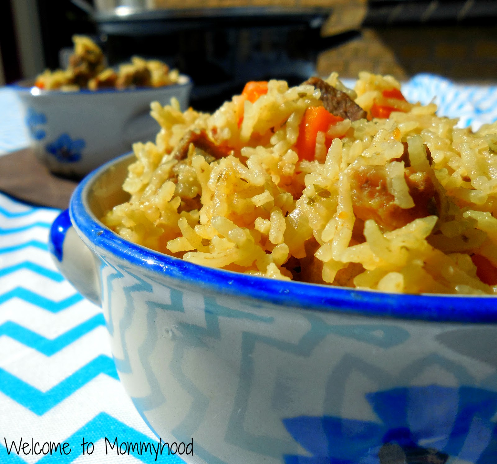 Brown rice pilaf by Welcome to Mommyhood #easyhealthyrecipes #healthymeals