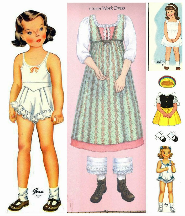 history of paper dolls Learn about the history of barbie dolls and the inventor, ruth handler handler watched her daughter barbara and friends playing with paper dolls.