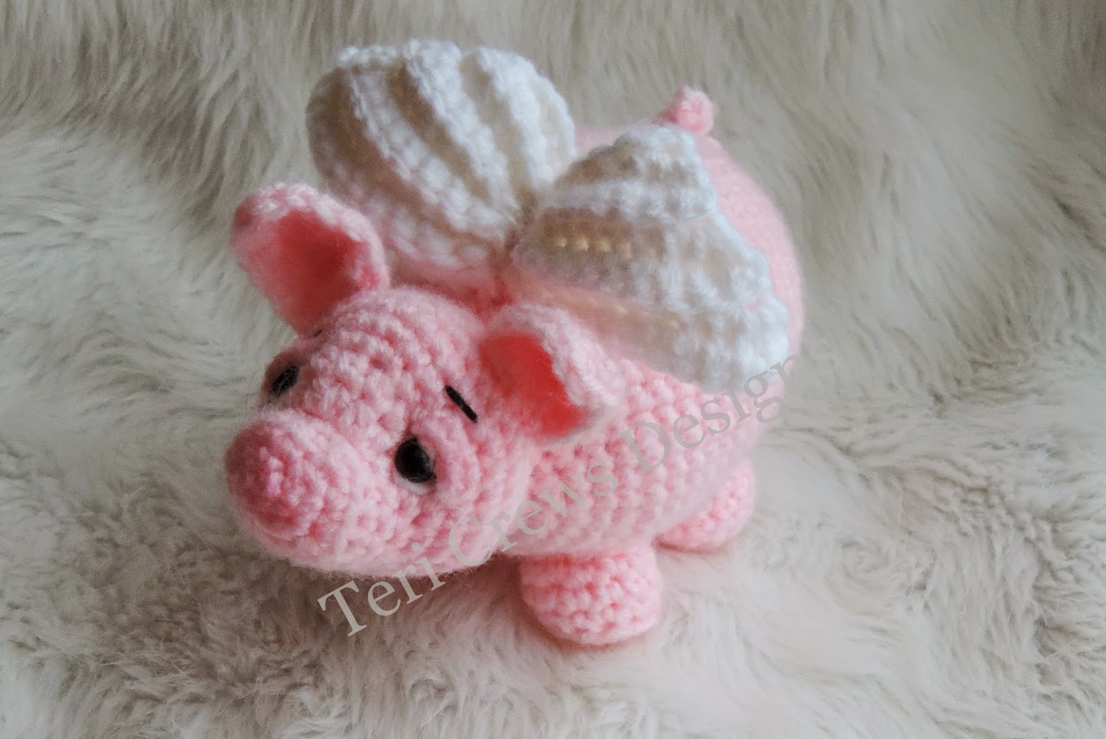 Teri\'s Blog: New Pig With Wings Pattern
