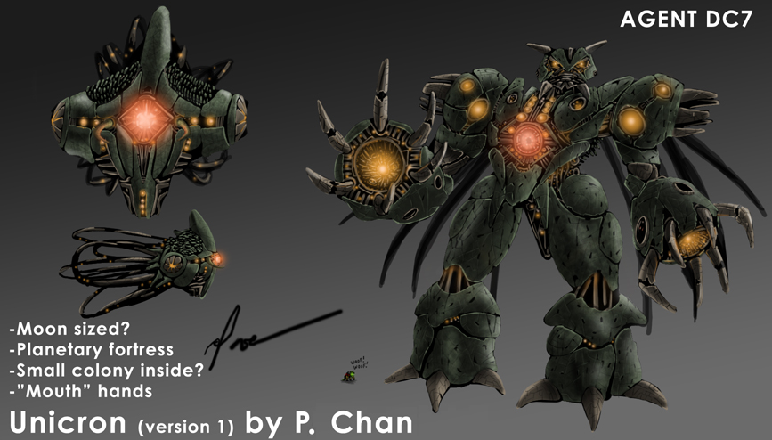 Transformers 4 Unicron Tf master: CONC...