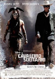 """Poster do filme """"O Cavaleiro Solitário"""""""