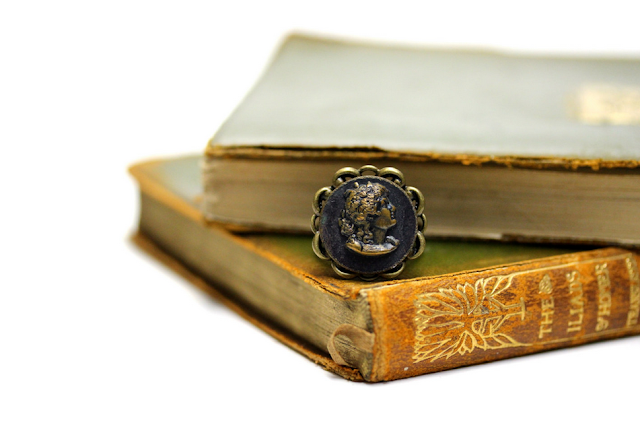 Antique Sarah Bernhardt Ring #antique #ring #theatre #jewelry