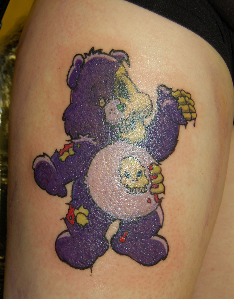 Care_bear_tattoo_by_4unt3rjpg
