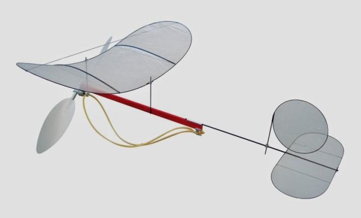 Cara Membuat Pesawat Tenaga Karet