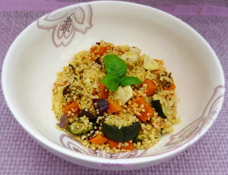 Mediterranean Couscous Salad - The 5:2 Diet Recipe Cookbook