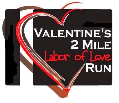 35th Annual Valentine's 2 Mile Labor of Love Run