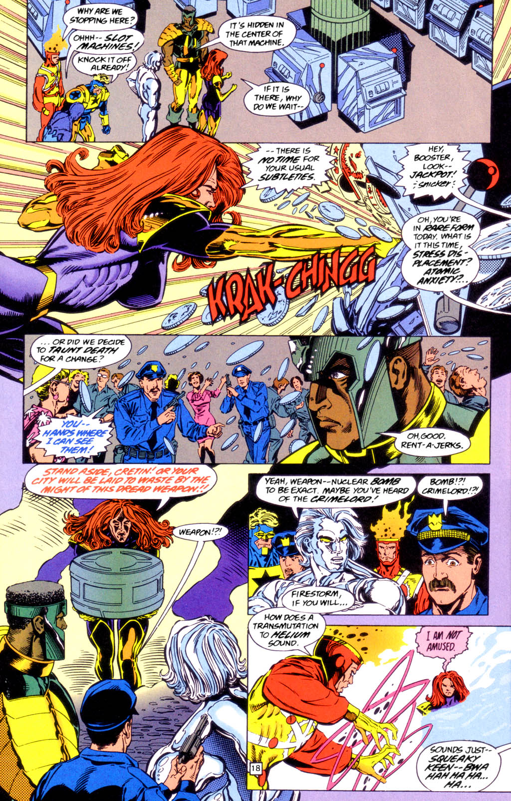 Deathstroke (1991) Issue #49 #54 - English 18